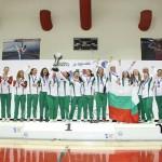 Българския женски хандбален отбор - световен победител