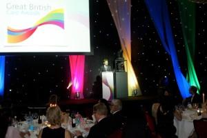 Награждаване на The British Care Awards