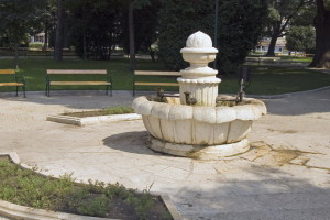 """Фонтанът в парк """"Св. Георги"""""""
