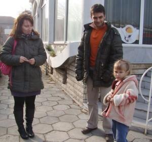 Лидия, Галин и Мадлен Йосифови