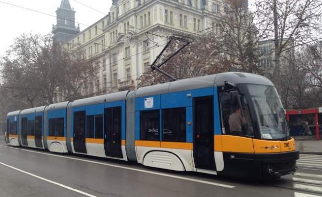 Нови екологични трамваи в София