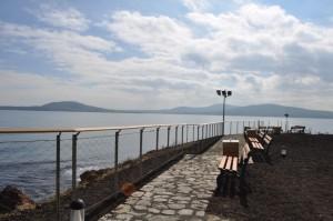 Реставрираният остров Света Анастасия