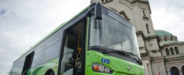 Електробус в София е първият в Европа с ултракондензатори