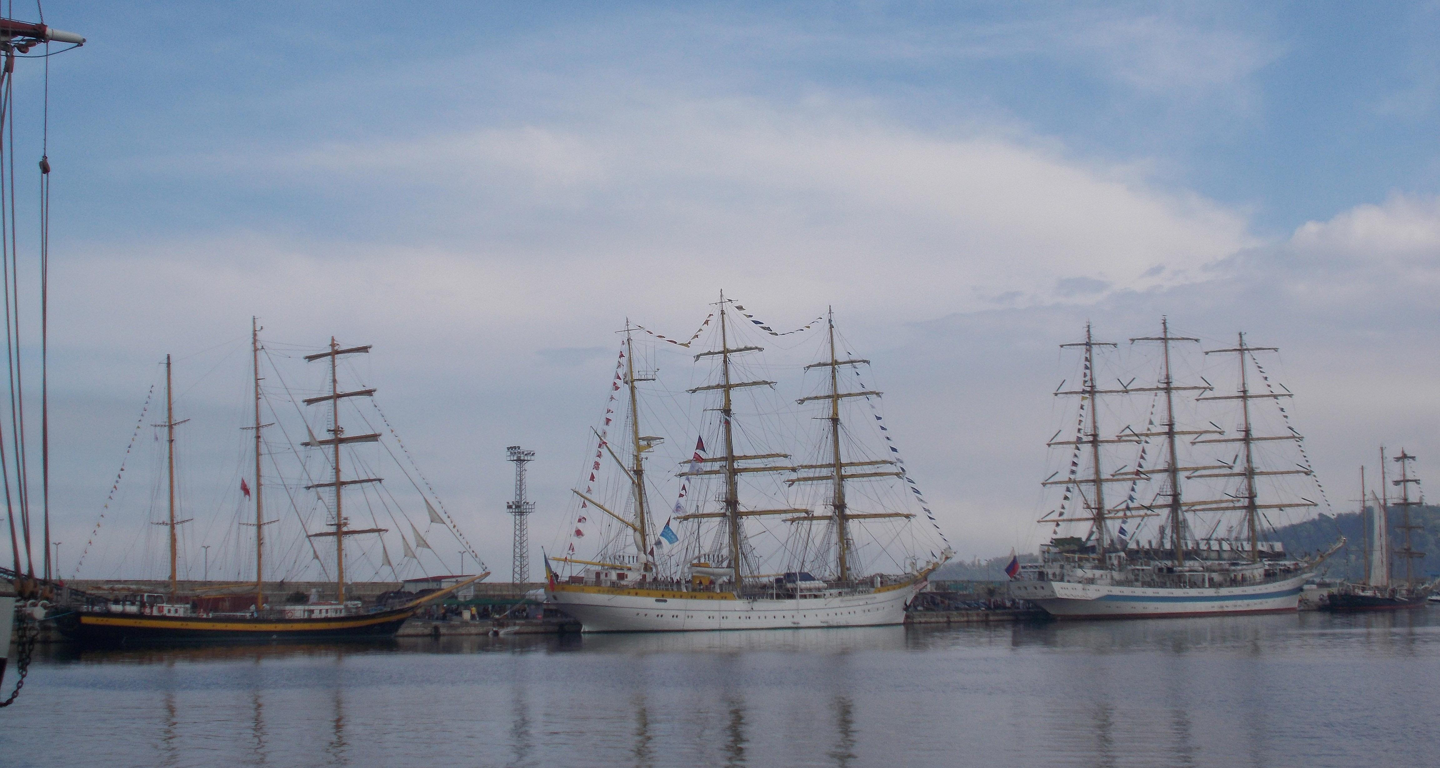SCF Black Sea Tall Ships Regatta – парад на красотата във Варна