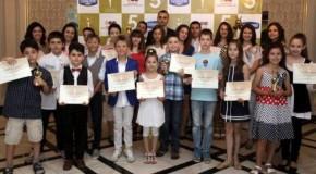 """Фондация """"Димитър Бербатов"""" награди """"Успелите деца на България"""""""