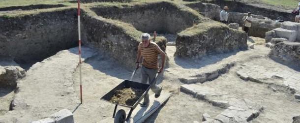 Разкриха раннохристиянска базилика при разкопките на античната крепост Залдапа (видео)