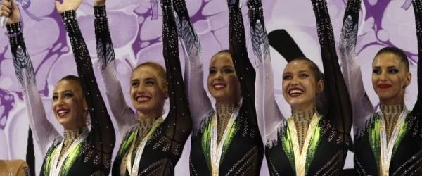 Златни медали на световното първенство в Измир спечели ансамбълът по художествена гимнастика