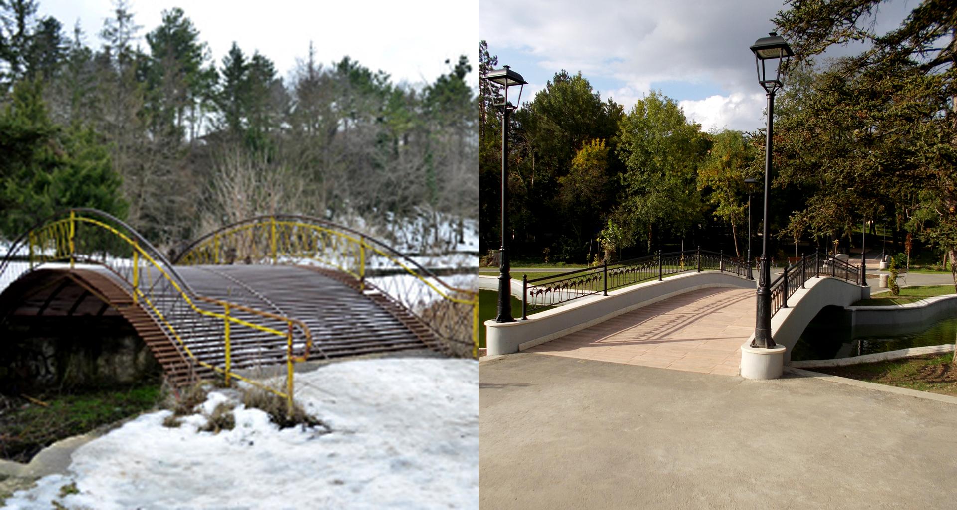 Откриха обновената градска градина в Добрич (видео)