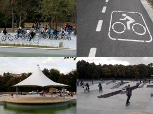 Скейт парк, Рок сцена, Добрич