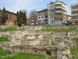 Малки римски терми, Варна