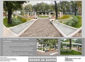 Проект за Шишкова градинка Варна