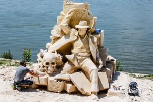 Международен фестивал на пясъчни скулптури, източник:Facebook,снимка:Цветомир Цветанов