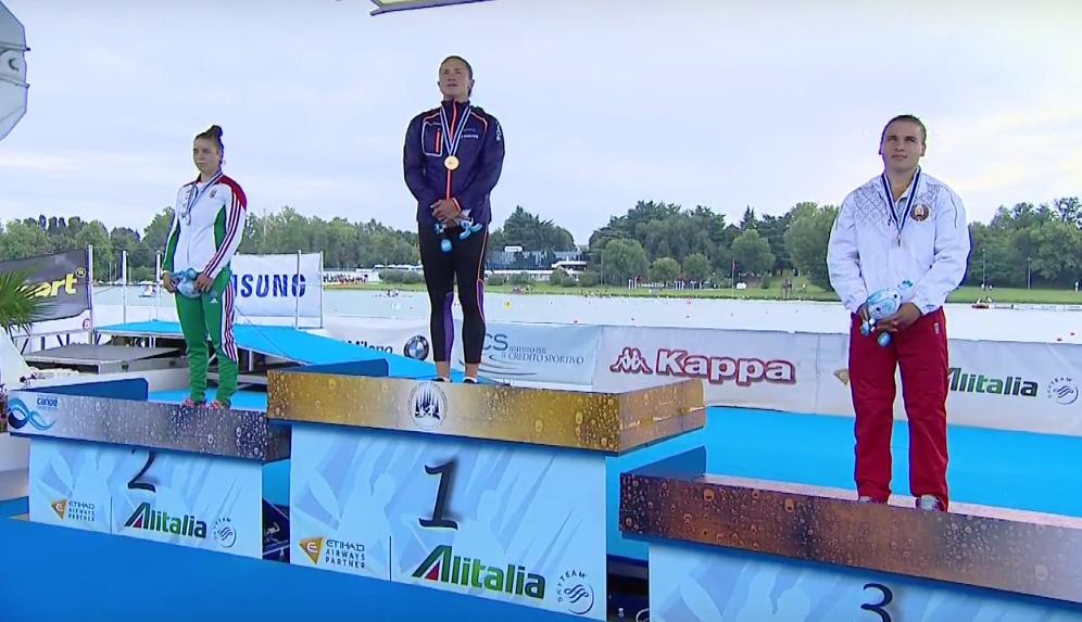 Станилия Стаменова със злато и световна титла при едноместно кану (видео)