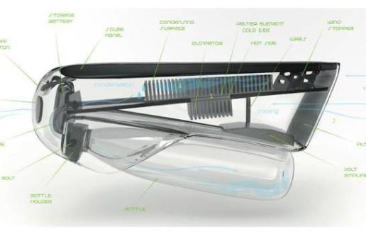 Неизчерпаем източник на вода – възможно с новата бутилката Fontus (видео)