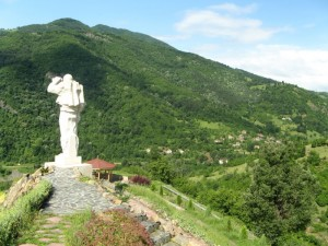 паметникът Дядо Йоцо