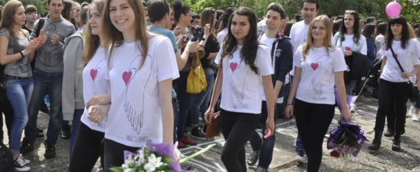 Абитуриенти от Хасково подпомагат семейства с репродуктивни проблеми