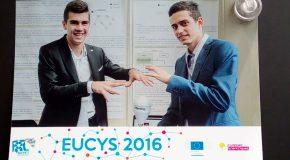 Две момчета от България с награда на EUCYS2016