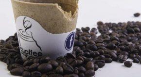 Разградима чаша за кафе с български патент