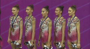 Злато за българския ансамбъл по художествена гимнастика от Световната купа в Италия /ВИДЕО/