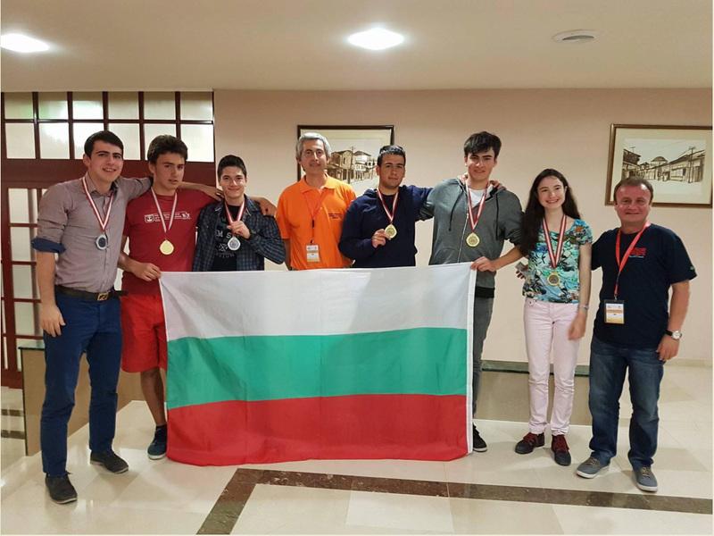 България е първа на Балканиадата по математика